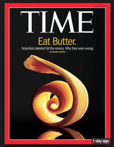 Time Magazine Eat Butter