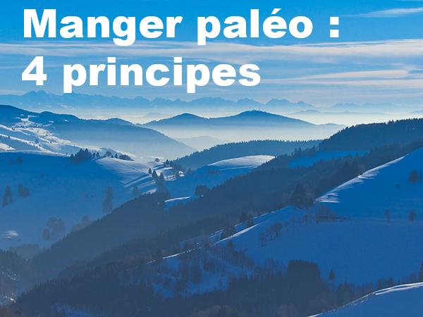 Manger paléo, 4 principes